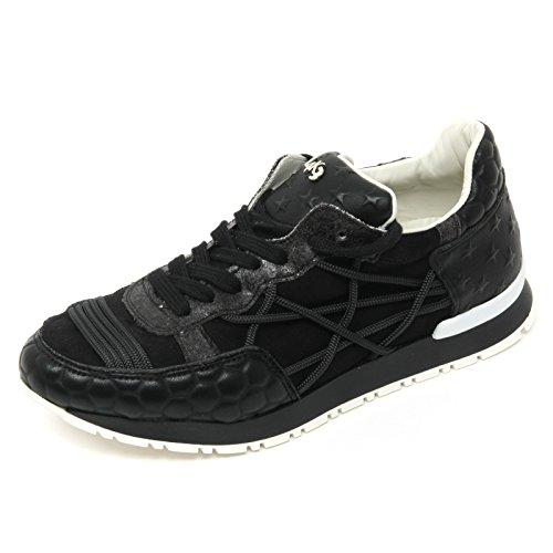L4K3 B9316 Sneaker Donna MR Big Scarpa Nero Shoe Woman [39]