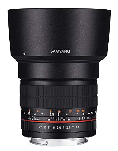 Samyang F1111203102 - Objetivo fotográfico DSLR para Nikon F Ae (Distancia Focal Fija...