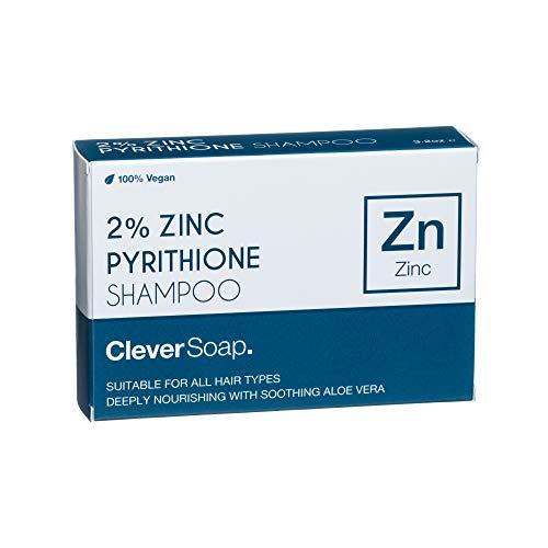 Clever Soap 2% Zinc Pyrithione Shampoo Bar   Anti-Dandruff & Vegan …