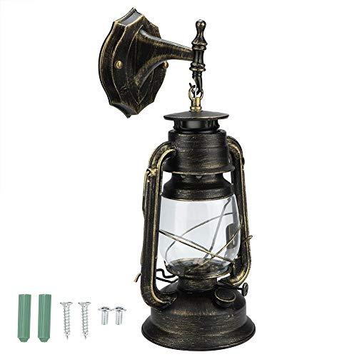 Fdit Retro Vintage LED Hurricane lantaarn muur hanglamp licht antiek metaal hanglamp lantaarn voor huis slaapkamer decoratie MEERWEG AANBIEDING