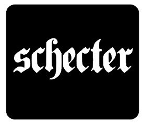 SUPERSTICKI® Schecter Gitar Sticker Decal Achtergrond/Afmetingen in inch Vinyl | 6 in Sticker Decal Achtergrond/Afmetingen in inch | CCI193