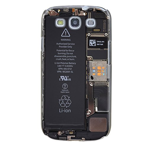 Trendario Handyhülle für Samsung Galaxy S3 (Battery) - Hülle - Schutzhülle mit Motiv - TPU Silikon Hülle - Hülle - Cover - Schale - Backcover - Handytasche