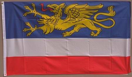Flagge Fahne ca. 90x150 cm : Rostock
