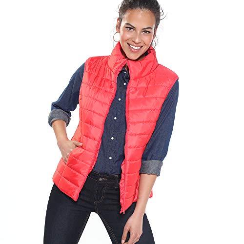 VENCA Chaleco Acolchado Mujer - 015558,Rojo,L