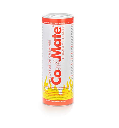 Co-Mate Chimney Cleaner (2 lb.) - Complete Chimney Care, Soot and Creosote Remover, Reduce Emissions, Anti-Corrosion Protection & More