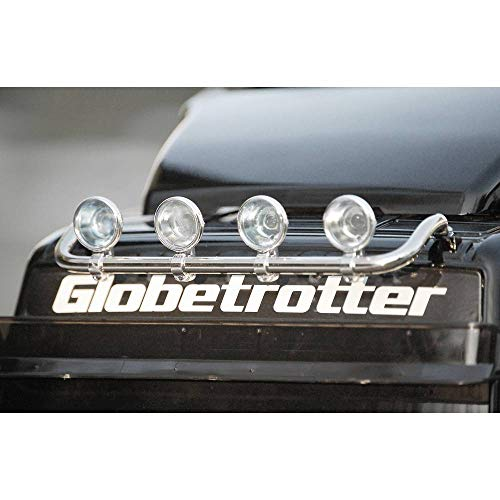 Carson 500907076 1:14 Dachlampenbügel Volvo FH12 Globetr, Silber