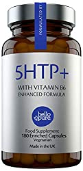 ✔️WHY HELLO PURE 5HTP+? Our undiluted 98% Griffonia Seed capsules are clean and natural herbal supplements extracted from the seeds of the African plant, Griffonia Simplicifolia. This 400mg Griffonia Seed extract equivalent provides 50mg of 'active' ...
