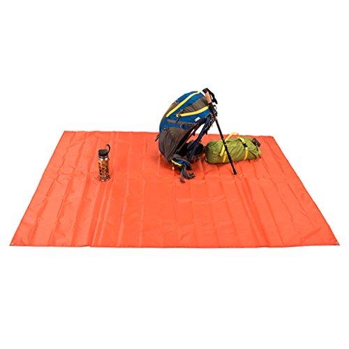 SKYSPER Coperta da picnic, 174; 220*150cm/220*180cm/210*300cm luce impermeabile compatto pieghevole picnic coperta, 210*300cm-Orange