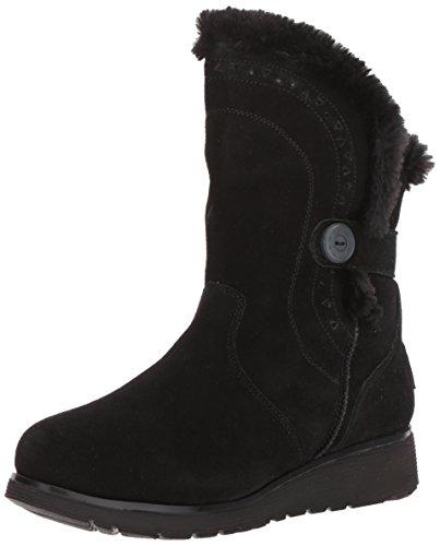 Skechers Damen Keepsakes Wedge Cozy Peak Halblange Stiefel, Black, 40 EU