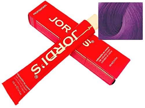 Matizador de mechas Profesionales color intenso y brillante - V+- VIOLETA - Coloración en crema 100ml.