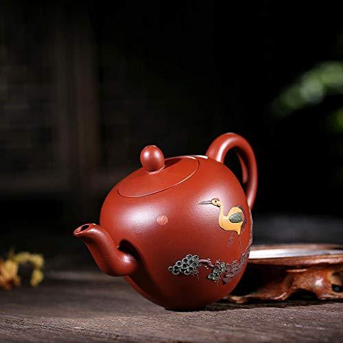 BXU-BG Wang Tetera de Yixing Xianyunyehe Unido Dahongpao té Wang Kung Fu Viajes