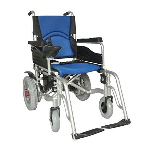 Y-L Oudere rolstoelen, elektrische rolstoelen voor ouders, ouderwetse roller, afneembare batterij, verstelbare zitting, afneembaar voetoppervlak