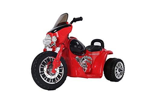 Toys Store Harley Kindermotorrad Elektro Dreirad Kinder Polizei Motorrad Kinderfahrzeug Rot