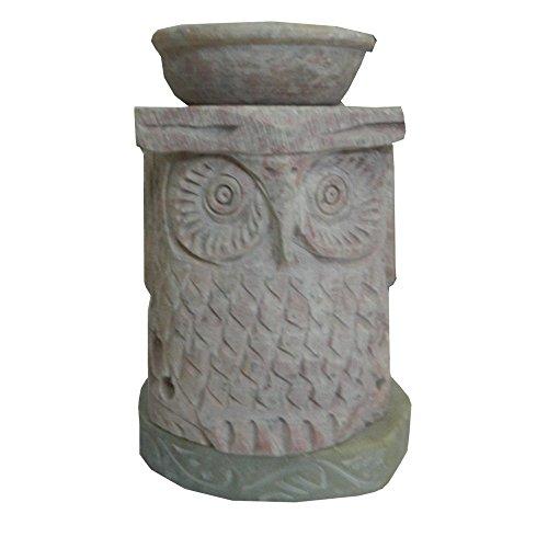 Lampada a candela bruciatore diffusore Gufo 11 cm in steatite lanterna portacandela accessori decorazione casa