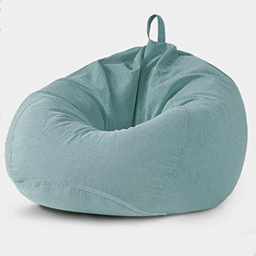 PAPAO Chill Sack Bohnen-Beutel-Stuhl, Importiertes EPP Particle Gefüllt faules Sofa des Fußbodens, tragbare Bequeme Liege Stühle Möbel für Schlafsaal,C