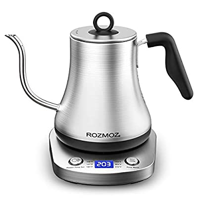 Rozmoz Electric Kettle with Temperature Control...
