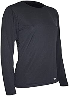 Polar Max Women's Travel Weight Long Sleeve Crew Base Layer Top