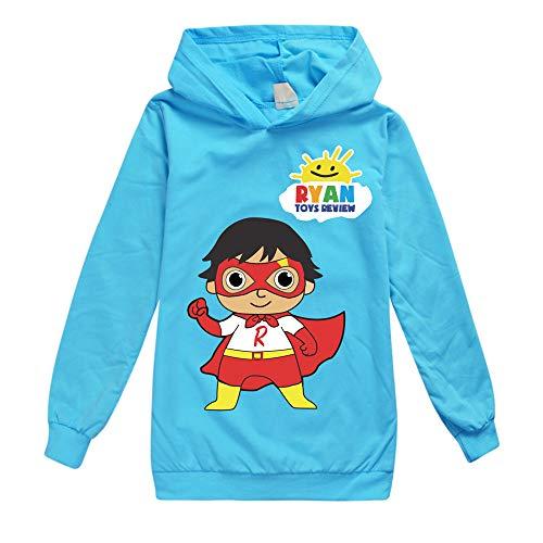 Ryan Toys Review Pullover Soft Hoodies Western Style Coats Airy Outwear Freizeit Pullover modischer Entwurf Sweatshirt Unisex Junge und Mädchen (Color : A12, Size : 90)