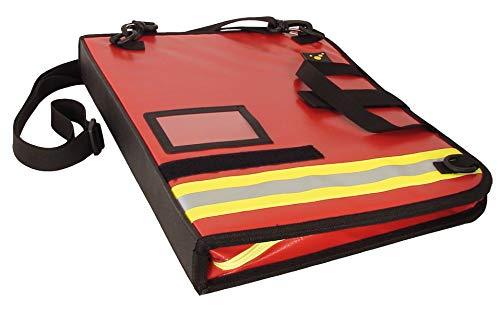 tee-uu BIG Einsatz-Organizer DIN A4 Hochformat (verschiedene Varianten) (rot Plane)