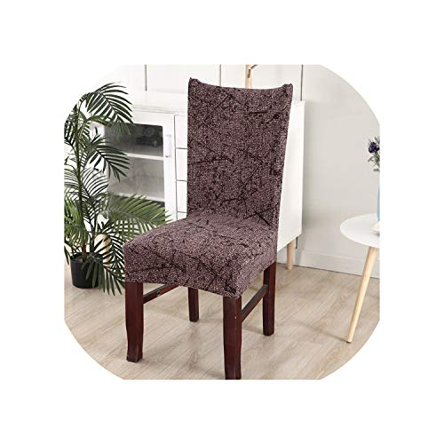 Price comparison product image Floral Printing Stretch Elastic Chair Covers Spandex for Wedding Dining Room Office Banquet Chair Cover, colour5, Universal Size