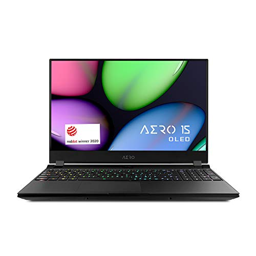 [2020] Gigabyte AERO 15 WB Thin+Light Performance Laptop, 15.6' 144Hz UHD IPS Display, GeForce GTX 1660 Ti, Intel Core i7-10750H, 16GB DDR4, 512GB NVMe SSD, Up to 8.5-hrs Battery Life
