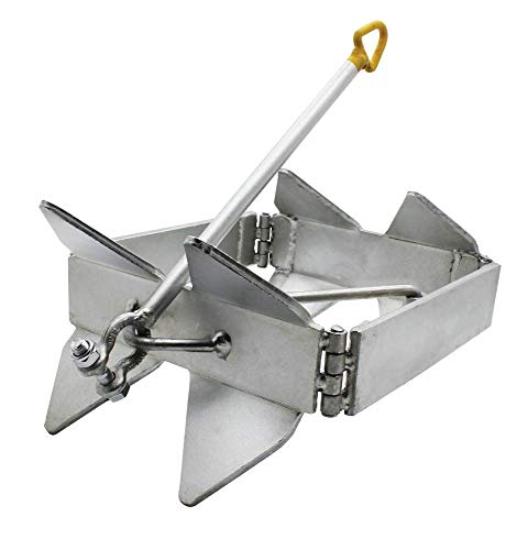 Extreme Max 3006.6652 BoatTector Zinc-Plated Cube Anchor (Box Style) - 19 lbs.