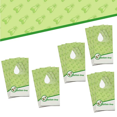 Der Motten-Shop, 3 Karten à 5 Lieferungen, Schlupfwespen gegen Kleidermotten, biologische & nachhaltige Mottenbekämpfung, Umweltfreundliche und giftfreie Alternative zu Mottenkugeln oder Mottenspray