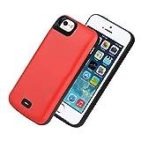 HQXHB Coque Batterie pour iPhone 5S /5/SE/SE2,[4000mAh] Chargeur Portable Batterie...