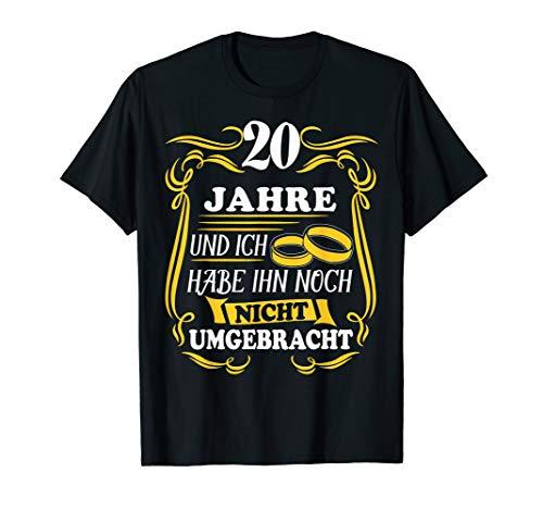 Porzellanhochzeit 20.Hochzeitstag Ehe Seit 2000 Geschenk T-Shirt