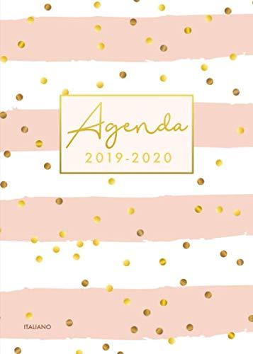 Agenda 2019 2020 italiano: Calendario, Agenda Giornaliera 2019 - 2020 | 18 Mesi | Luglio 2019 Dicembre 2020 | Planner Settimanale 2019/2020 | Pois