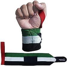 Wrist Wraps UAE Flag Design Gym Fitness Workout Wrist Support Strap