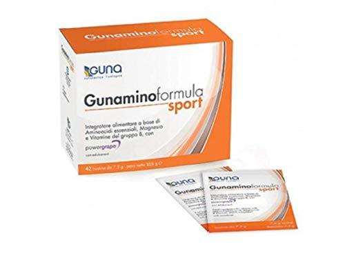 GUNA INTEGRATORE ALIMENTARE GUNAMINO FORMULA SPORT 42 BUSTINE