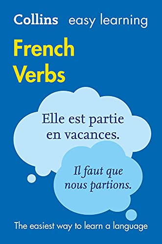 Collins Dictionaries: Easy Learning French Verbs: Trusted Support for Learning (Collins Easy Learning)