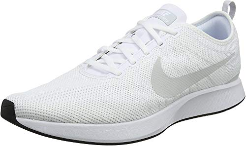 Nike DUALTONE Racer, Zapatillas para Hombre, Blanco (White/Pure Platinum/White/Blac 102), 39 EU