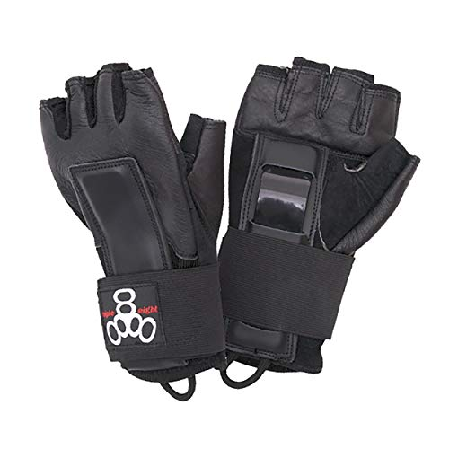 Triple Eight Hired Hands Skateboarding Wrist Guard Gloves, Small
