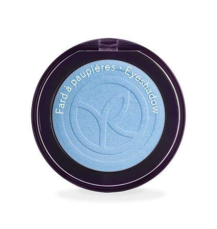 Yves Rocher COULEURS NATURE Lidschatten COULEUR VÉGÉTALE Bleu Nigelle nacré, einzelner Eyeshadow in Hell-Blau, 1 x Dose 2,5 g