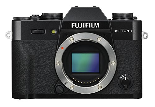 Fujifilm X-T20 Systeemcamera met behuizing Touch LCD 7,6 cm, zwart