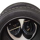 2x Mitas V41 Walrus 10 Zoll Reifen 10x1.75x2 Zoll | 47-152 + 90° AV Schlauch (abgewinkeltes Ventil) Kinderwagen, Buggy, Roller, Dreirad