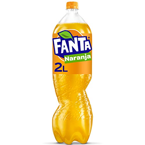 Fanta Naranja - Refresco con 8% de zumo de naranja Bajo en...