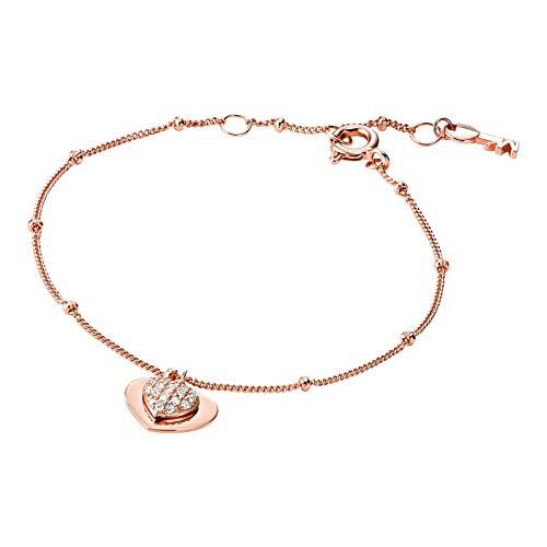 Michael Kors MKC1118AN791 Damen Armband Silber 925 Rose weiß Zirkonia 18 cm