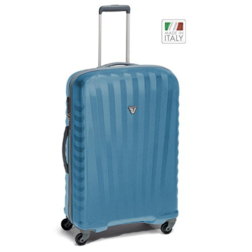 Roncato Uno Zip M Valigia trolley 4 ruote blu
