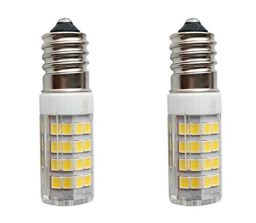 SFTlite [2er Pack KaltesWeiß] 4W E14 LED Lampe 51 SMDs Nicht Dimmbar - Ersatz für 35W Halogenlampen - 400lm - 6000K - 360°Abstrahwinkel - LED Leuchtmittel SES E14 Edison Schraube LED Birnen