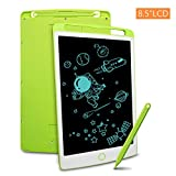 LCD Writing Tablet, Richgv 8.5 Inch Doodle Board Kids Drawing Tablet, Doodle Pad Light Drawing Board for Kids Green