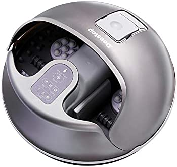 Deestop Steam Foot Spa Bath Massager Foot Sauna with 3 Heat Levels