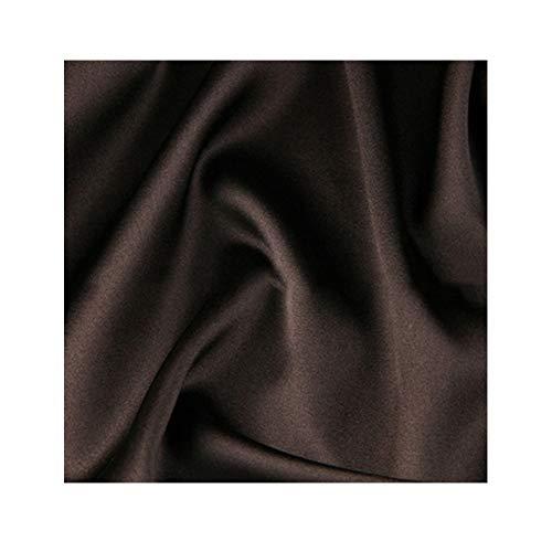 Anquanwang katoenen zijdestof satijn 140 cm breed genaaid stretch zomerjurk hoge kwaliteit kleding stof bruiloft decoratie gevoerd beddengoed