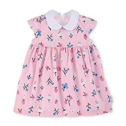 Sterntaler Baby-Mädchen Kleid, Rosa (Rosa 724), 9-12 Monate (Herstellergröße: 80)