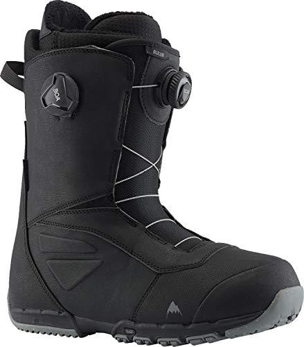 Burton Herren Ruler Boa Black Snowboard Boot, schwarz(Black), 44.5 EU(10.5)