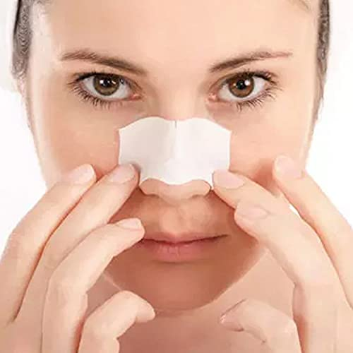 Glamza Blackhead Removal Strips Nose Face Mask Deep Cleansing Pore Treatment Sachets UK (X10 Blackhead Masks)
