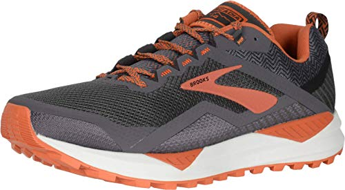Brooks Cascadia 14 Black/Grey/Burnt Orche 11 D (M)
