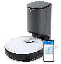 ECOVACS DEEBOT OZMO T8+, Staubsauger-Roboter mit Wischfunktion & automatischer Absaugstation, intelligenter Navigation, Google Home, Alexa- & App-Steuerung©Amazon